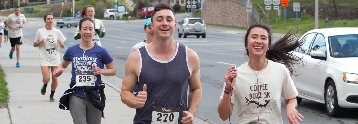 runners at Coffee Buzz 5K